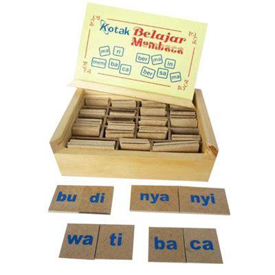 Kotak Pas Hewan kotak belajar membaca mainan kayu