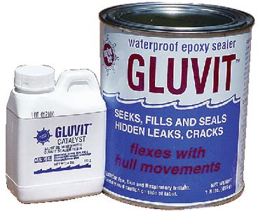 aluminum boat epoxy sealer marinetex rm331k gluvit epoxy sealer gallon kit ebay
