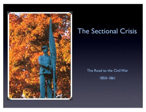 sectional crisis of 1850 sectional crisis