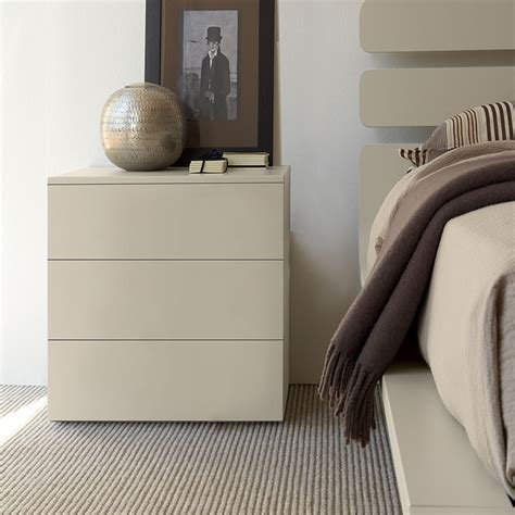 bond bedside cabinet gloss or matt