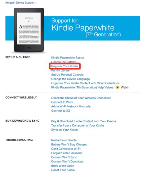 amazon kindle account www kindle com support how to register for an amazon