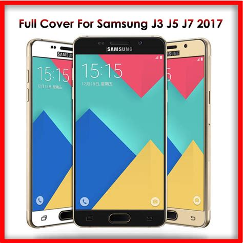 Tempered Glass For Samsung Galaxy J7 Pro J330 2017 Screen european promotion shop for promotional european