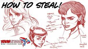 how to steal from your favourite artists j scott campbell