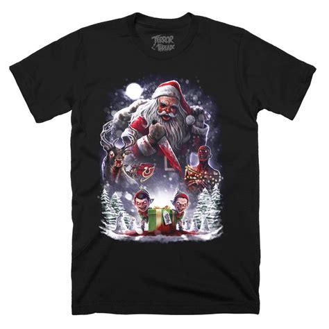 horror themed clothing uk tt limited edition santas revenge daily dead