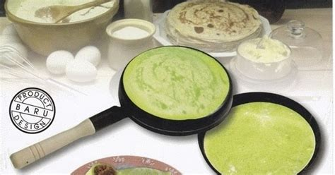 Teflon Kwalik alat masak modern bristo wajan crepes wajan kwalik