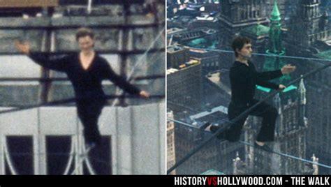 twin towers walk movie the walk movie vs true story of philippe petit man on wire
