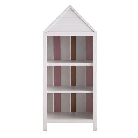 cabina da spiaggia libreria cabina da spiaggia rosa in legno per bambini l 60