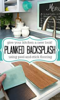 Inexpensive Flooring Options Do Yourself Inexpensive Backsplash Idea Faux Plank Wall Mom 4 Real