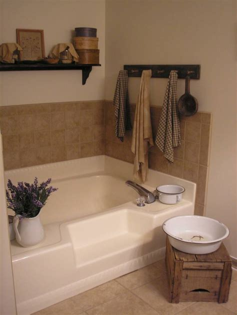 bathtub decoration primitive bathroom decor 14 photo bathroom designs ideas