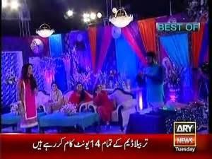 live morning show aijaz aslam gabbar singh ka dialogue