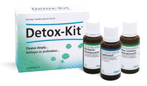 What Is A Detox Kit by Detox Kit Stimulates Organ Systems Involved In Drainage