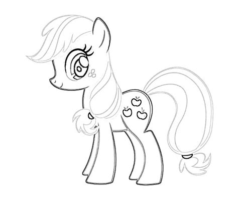 my little pony coloring pages applejack 3 my little pony applejack coloring page