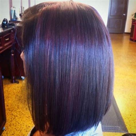 dark brown hair with purple highlights underneath 2015 50 fabulous purple hair suggestions hair motive hair motive