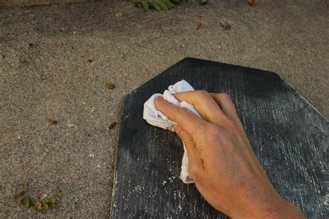 chalkboard cleaner diy diy chalkboard tombstone