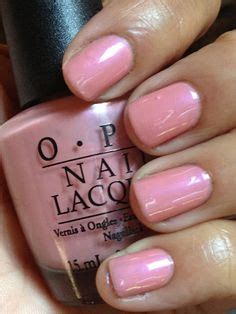 8 Nail Colours You Need For Right Now by Opi Pink Nail Right Now I M Wearing Opi Nail