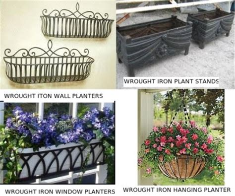 wrought iron planters wrought iron wall planters wrought