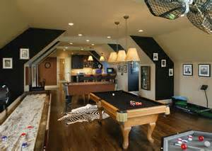 gaming rooms and entertainment rooms featuring witty design ideas