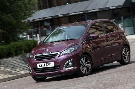 Split Level Style peugeot 108 review 2017 autocar