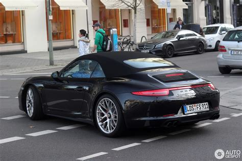 Porsche 911 Cabrio 4s by Porsche 991 4 Gts Cabriolet 4 March 2017