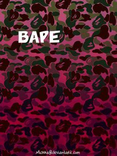 Xiaom Mi 4 Bape Aape Camo Pattern Cover Hardcase bape x supreme by venicedesign and photography