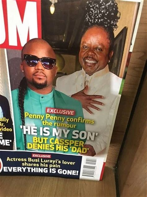is casper nyovest the son of penny penny is penny penny casper nyovest father papa penny penny n