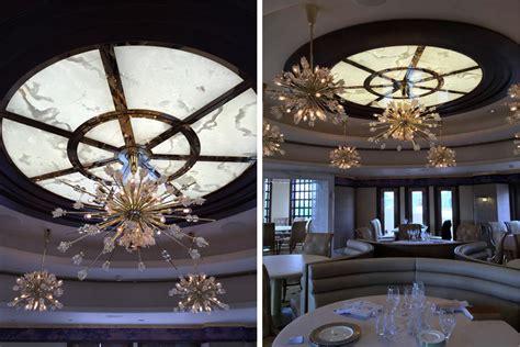 Backlit Ceiling by Illuminated White Onyx Ceiling Panels Gpi Design