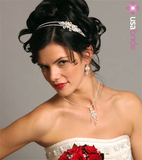 kaji fashion wedding hairstyles with headband hairstyle