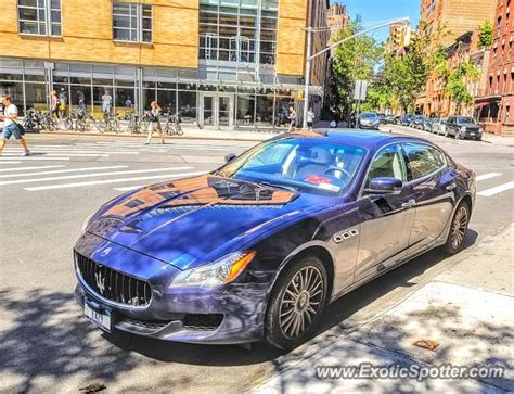 maserati nyc maserati quattroporte spotted in manhattan new york on 06