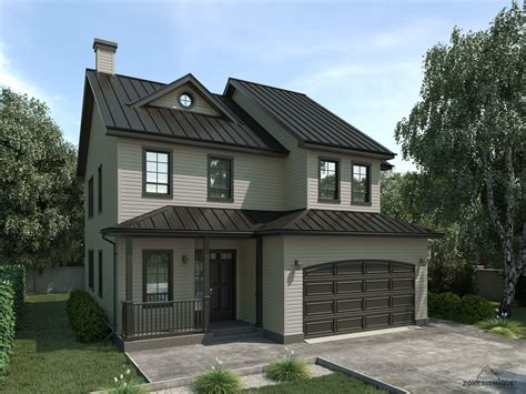 architecture maison 3d zone sismique carbure design maison 3d duchesne modele 2