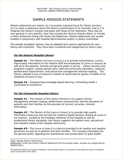 personal mission statement exles for students department mission statement template
