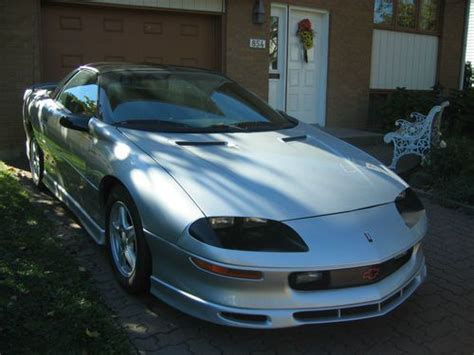 auto air conditioning service 1997 chevrolet camaro electronic throttle control buy used camaro 1997 rs special 30th edition v 6 leather kept in garage t top silver in