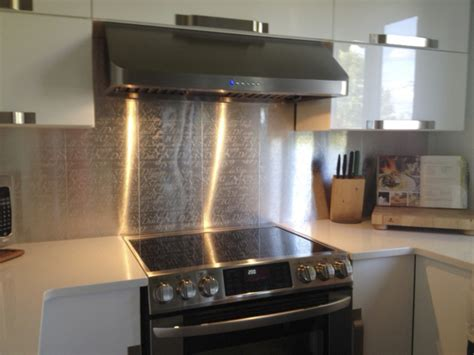 plaque adh駸ive inox cuisine renovation credence cuisine cuisine casablanca crdence