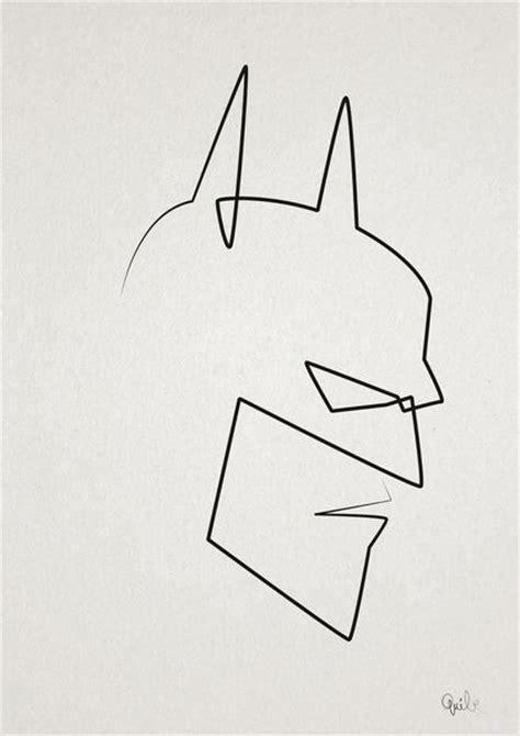 simple tattoo batman 167 best line art images on pinterest drawings figure
