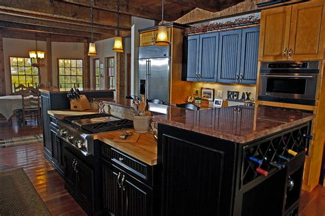 rustic black kitchen cabinets rustic painted kitchen cabinets home decor report