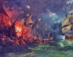Defeat of the spanish armada 8 august 1588