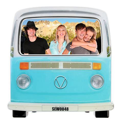 furgoneta hippie decoracion marco de fotos furgoneta hippie
