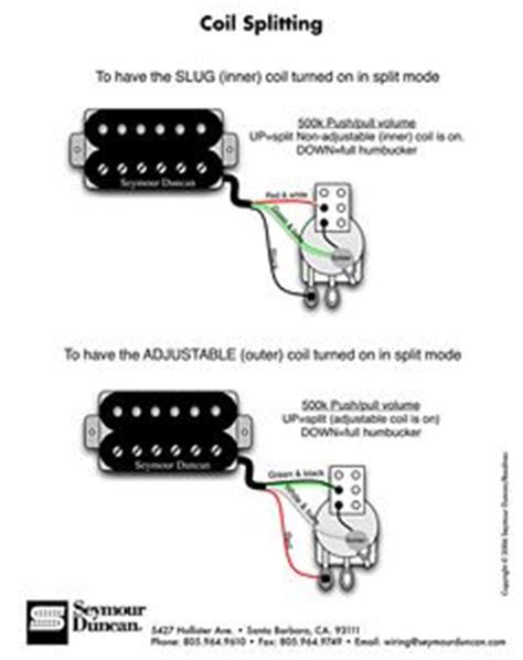 hsh wiring  auto split  coils   dpdt mini