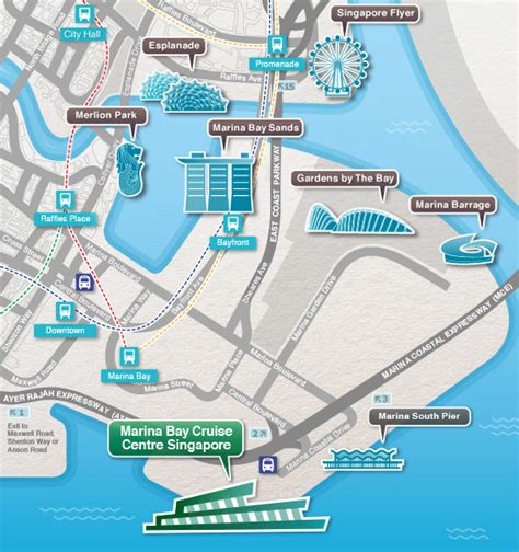 Suntec City Mall Floor Plan Singapore Cruise Port Guide Cruiseportwiki Com