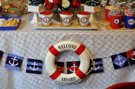 nautical theme preppy boy nautical birthday party