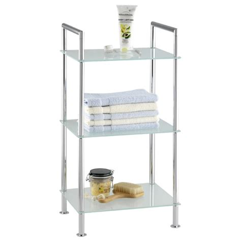 Shower Racks by Wenko Style Bathroom Rack Chrome 17777100 At Plumbing Uk