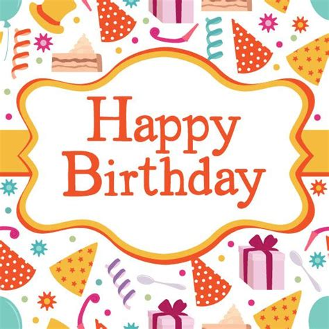 happy birthday design on thermocol card invitation design ideas customized birthday card