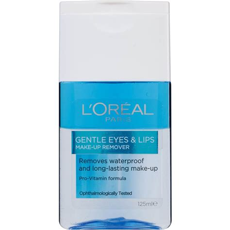L Oreal Dex Gentle Lip Eye Make Up Remover 125ml 100 Original l oreal dermo expert waterproof eye makeup remover 125ml woolworths