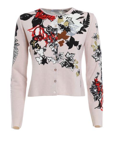 Floral Print Cardigan floral print cardigan by blumarine cardigans ikrix
