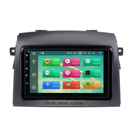 download car manuals 2008 toyota sienna navigation system android 8 0 gps navigation system for 2004 2010 toyota sienna with backup camera hd touch screen