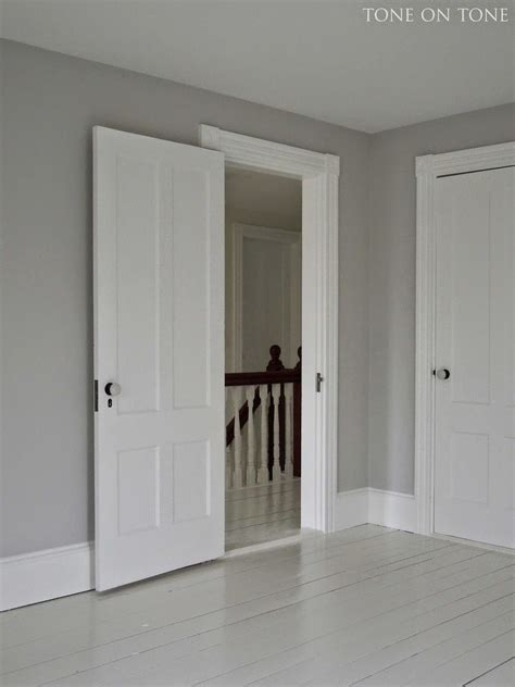 grey wall color newly painted i chose benjamin moore wickham gray for the