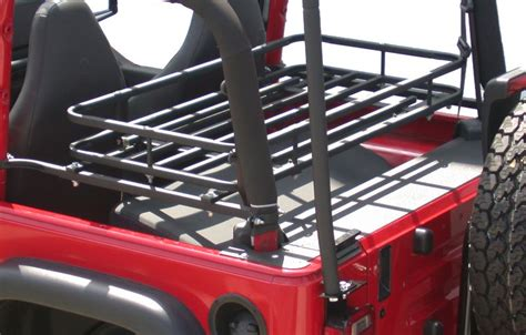 Tj Cargo Rack by Olympic 4x4 Products 907 124 Olympic 4x4 Products