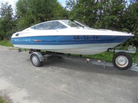 speedboot met open punt bayliner 1850 open punt 70 pktrailer inruil mogelijk
