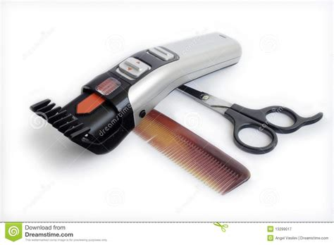Hair Dresser Tools by Hairdresser Tools Stock Image Image Of Style Isolated
