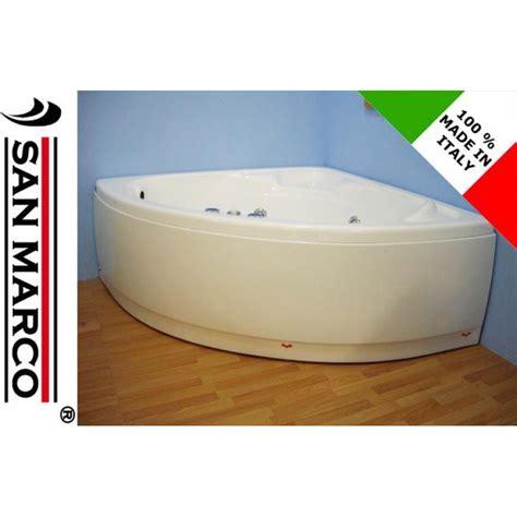 vasca idromassaggio angolare 140x140 vasca da bagno angolare con idromassaggio 140x140 cm san