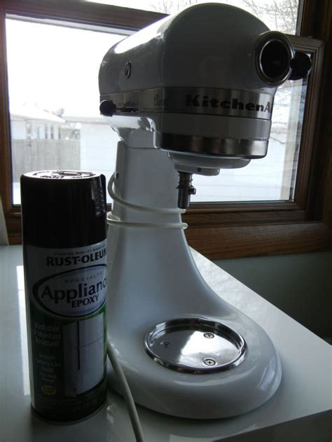 spray paint kitchenaid mixer how to spray paint your kitchenaid mixer projects